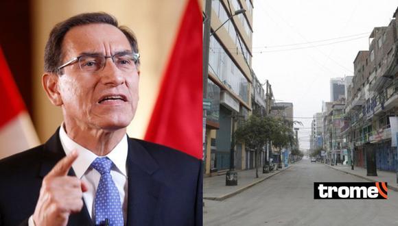 Martín Vizcarra anuncia nueva medida para frenar avance del coronavirus en el Perú