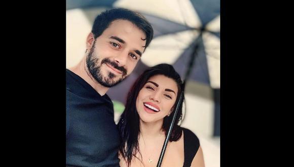 Diana Sánchez con su novio. (Foto: Instagram)