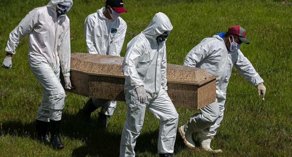 Muertos por COVID-19 superan ya los tres millones en el mundo (Foto: TARSO SARRAF / AFP).