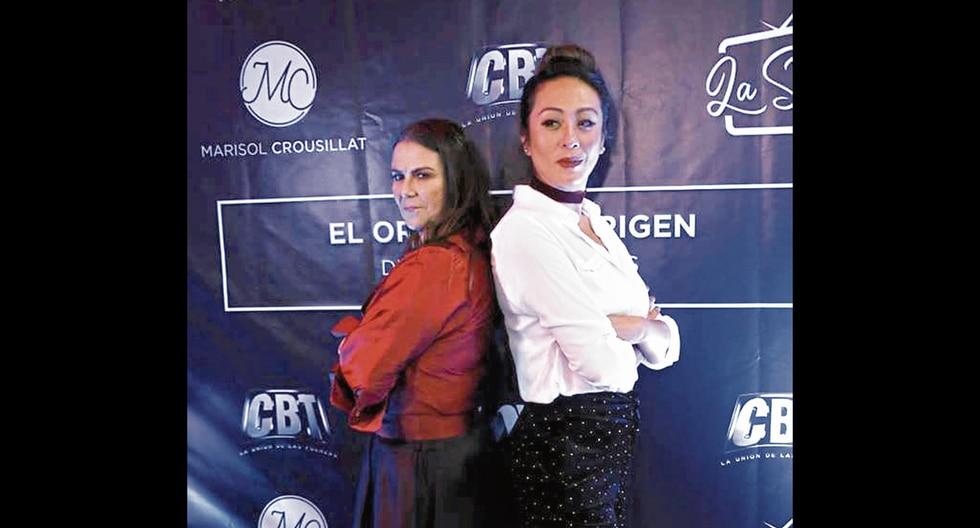 Cathy Saenz y Marisol Crousillat