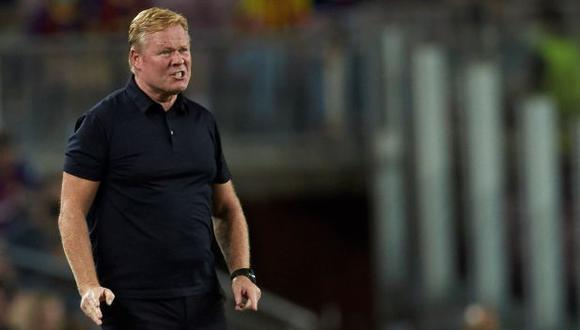 Ronald Koeman tiene contrato hasta junio de 2022 con Barcelona. (Foto: EFE)