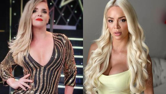 Johanna San Miguel aclara a Shyela Rojas que 'Queca' es la verdadera 'barbie peruana'. (Instagram)