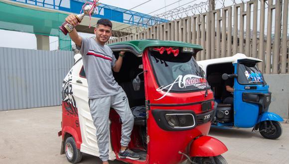 Carrera de mototaxis Vecino de Villa María del Triunfo es el más rápido y ahora quiere correr en carros