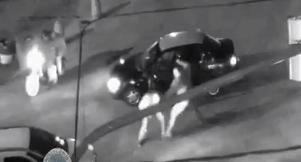 El impactante momento en el que taxista es masacrado por conductor hasta dejarlo en coma. Foto: Captura de YouTube