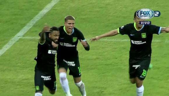 Gol de Alexi Gómez en Alianza Lima por Copa Libertadores