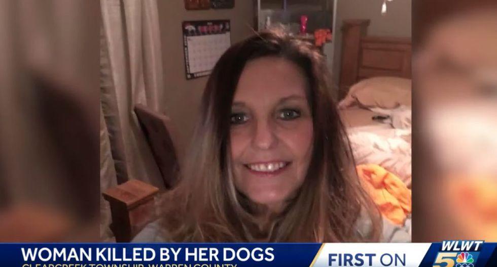 Mary Matthews, de 49 años, al parecer murió desangrada, según la oficina forense del condado Warren, Ohio. (Foto: Captura de video)