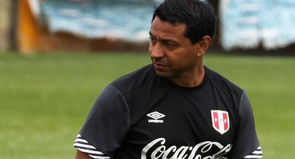 Nolberto Solano es parte del comando técnico de la selección peruana. (GEC)