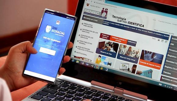 Compatriotas solo tendrán que descargar en un celular con sistema operativo Android el aplicativo 'DNI Biofacial'.