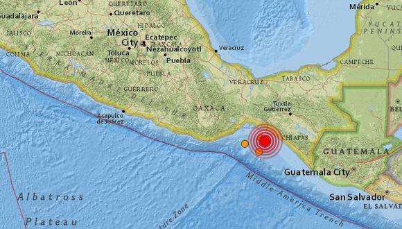 Nuevo terremoto en México se registró esta mañana.