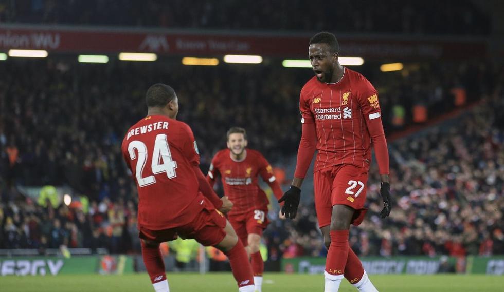 Liverpool clasificó a cuartos de final de la Copa de la Liga  tras vencer en penales al Arsenal