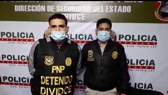 Yanpiere Santiago (25), 'La Rata', sindicado como cabecilla de la banda 'Los Charlys de La Victoria'. (PNP)