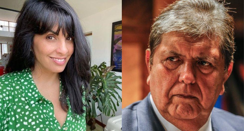 A Carla García le recordaron los gobiernos de su padre Alan García. (Instagram/GEC)
