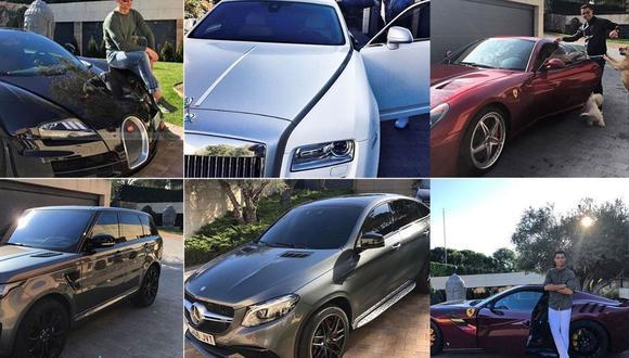 CR7 se lleva sus autos a Portugal y parece que su partida no tendría marcha atrás (Foto: Facebook)