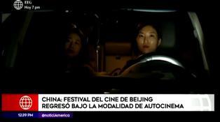 El Festival Internacional de cine de Beijing celebra su décima edición con modalidad de autocinema