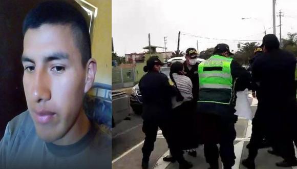 Tacna: Policías agreden violentamente a padres de soldado desaparecido Wilber Carcausto Uchiri, quienes llegaron a pedir explicaciones al frontis de la Tercera Brigada de Caballería.