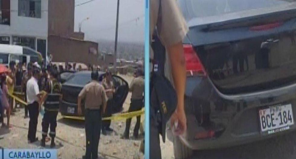 La Policía investiga el caso. (Foto: Captura/Canal N)