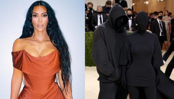 Kim Kardashian acaparó todas las miradas tras aparecer en el evento vestida completamente de negro. (Foto: Instagram @kimkardashian)