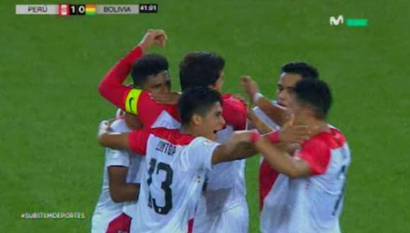 Nicolás Figueroa GOL Perú vs. Bolivia Sub-17