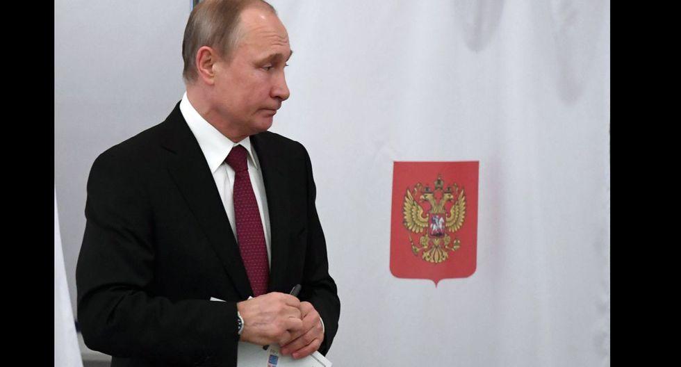 Vladimir Putin fue elegido presidente de Rusia.