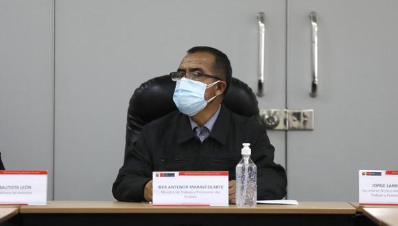 Debido a los cuestionamientos, se ha presentado una moción de interpelación contra el ministro. (Foto: Ministerio de Trabajo)