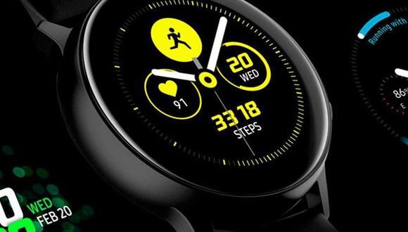 Samsung lanzará el próximo 5 de agosto la segunda versión de su reloj inteligente Samsung Galaxy Watch Active. (Foto: Android Headlines)