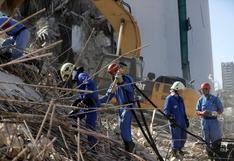 Beirut: Elevan a 160 los muertos y el ejército encuentra cinco cuerpos más