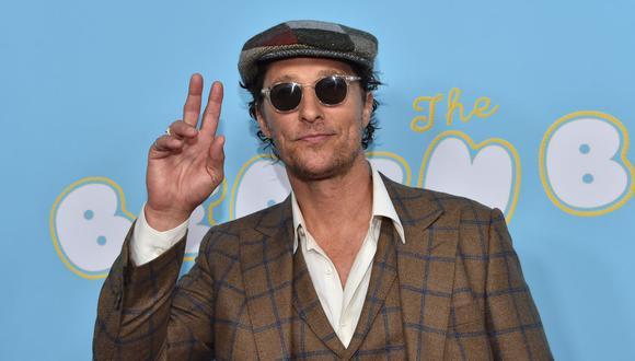 """Matthew McConaughey confiesa en """"Greenlights"""" que sufrió abusos a los 18 años. (Foto: AFP)."""