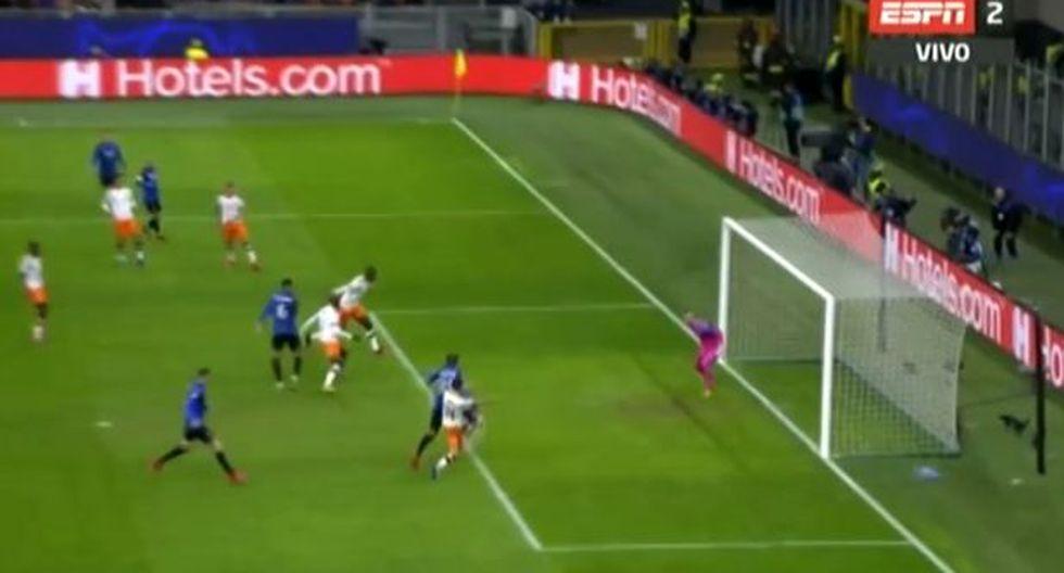 Valencia vs Atalanta: Gol de Hateboer (Video: ESPN) (Trome)