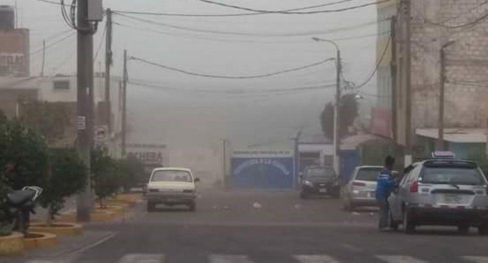Fuertes vientos reportó el Senamhi este lunes 23 en la costa peruana. (Foto: GEC)