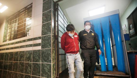 Detienen a delincuente que golpeó a clientes para robar en una peluquería de San Martín de Porres. Foto: César Grados/@photo.gec