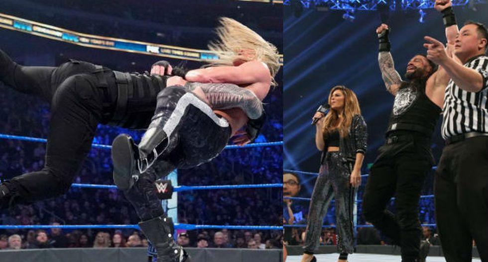 Roman Reigns se encargó de Dolph Ziggler. (Fotos: WWE)