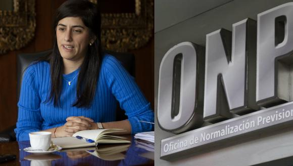 Ministra de Economía se pronuncia sobre devolución de aportes de la ONP