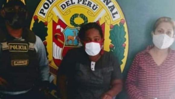 Piura: Agentes de la comisaría de Bellavista, en Sullana, detuvieron a la ciudadana venezolana Alejandra Mayora Acosta (39) y a la peruana Paola Mercedes Morán Atoche (42), quienes son acusadas de utilizar a un niño de cinco años para pedir limosna.