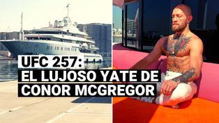 Conoce todo sobre el lujoso yate en el que llegó Conor McGregor a Abu Dhabi