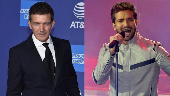 Antonio Banderas y Pablo Alborán donan más de US$200,000 para el proyecto Andalucía Respira. (Foto: AFP)
