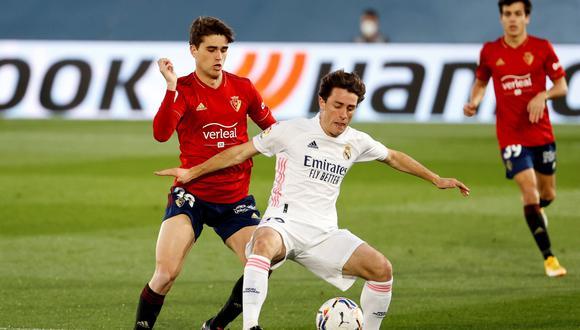 Álvaro Odriozola es uno de los cinco jugadores que buscará el Milan. (Foto: EFE)
