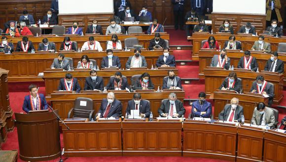 Los congresista de Perú Libre pidieron retirar palabras que consideraron ofensivas a los congresistas Norma Yarrow y Hernando Guerra García. (Congreso)
