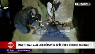 Investigan a más de 40 Policías por el presunto delito de tráfico de drogas