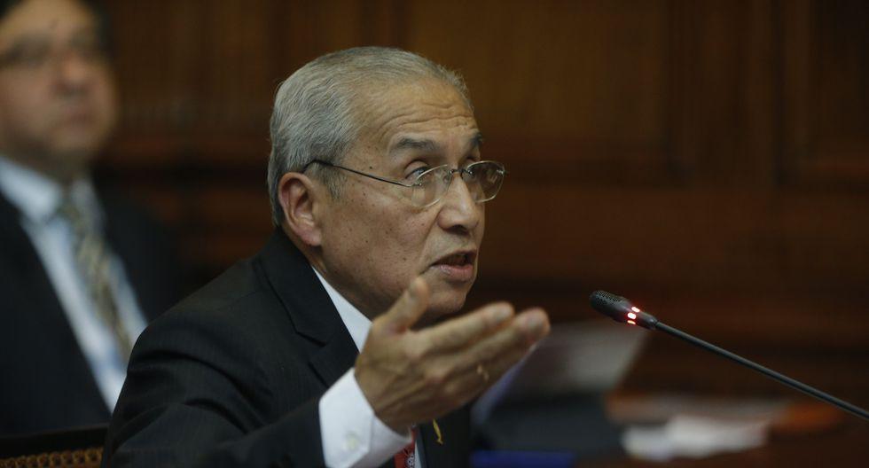 El secretario general del Ministerio Público, Aldo León Patiño, dijo que ocupó un cargo de confianza durante la gestión de pedro Chávarry. (Foto: GEC)