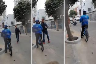 Miraflores: hombre recibe llamado de atención y golpea a serenazgo