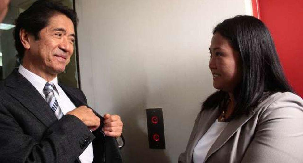 Jaime Yoshiyama dice que no recibió dinero para campaña de Keiko Fujimori