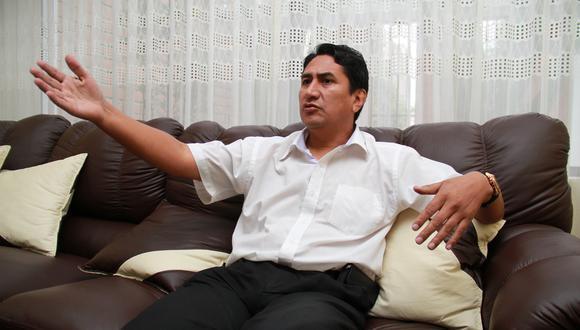 Vladimir Cerrón, quien tienen una sentencia firme, fue propuesto como candidato presidencial de Perú Libre para los comicios generales del 2026. (Foto: archivo GEC)