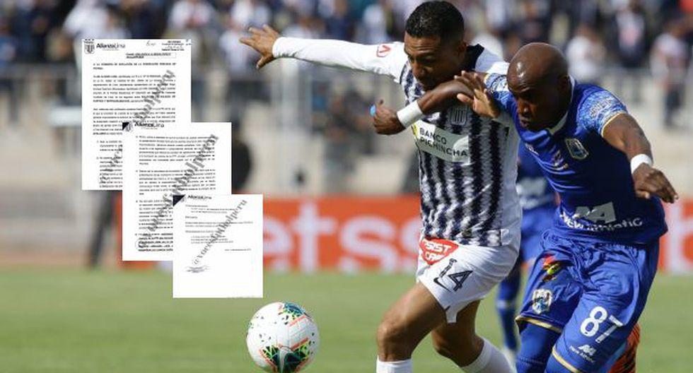 Alianza Lima vuelve a pedir nulidad de la final ante Binacional en Juliaca: Club Apeló fallo en contra