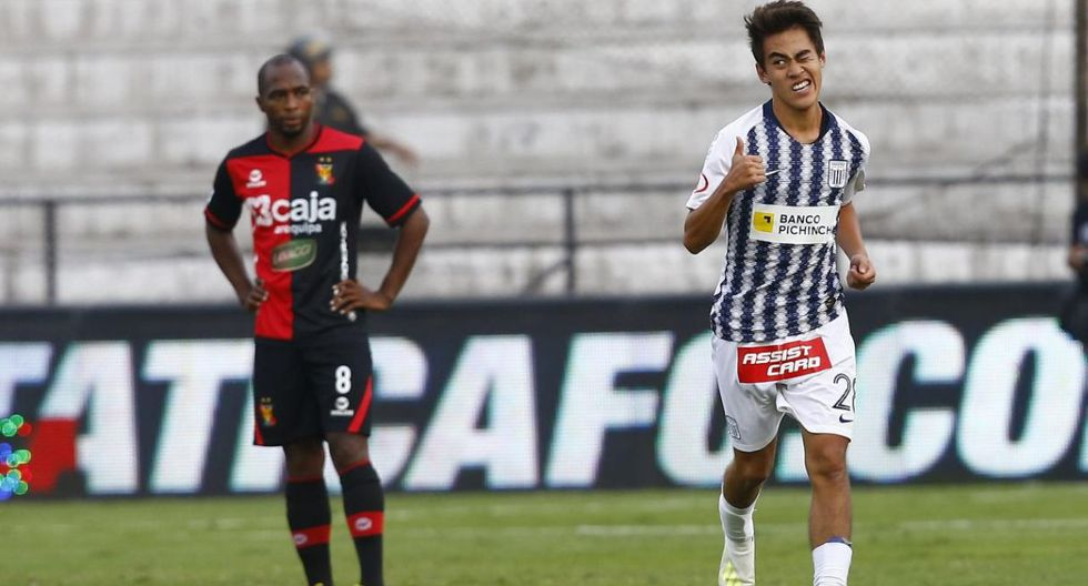 Gol de Mauricio Matzuda en Alianza Lima vs Melgar. (Foto: Paco Neyra).