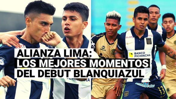 Alianza Lima: Repasa los mejores momentos del debut blanquiazul en la Liga 1