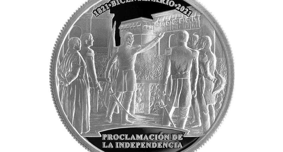 BCR lanza nueva moneda alusiva al bicentenario de la Proclamación de la Independencia