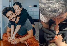 Camilo Echeverry tatuó a Evaluna Montaner y este fue el resultado | VIDEO