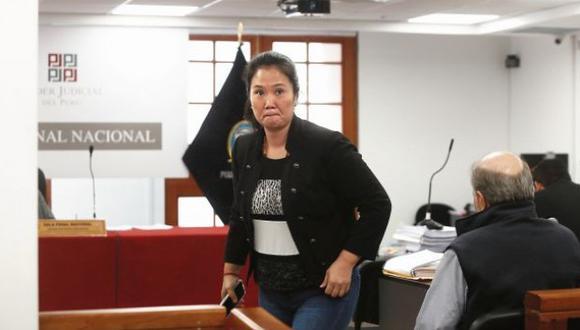 Keiko Fujimori cumple orden de 36 meses de prisión preventiva en el penal Anexo Mujeres de Chorrilos. (Foto: GEC)