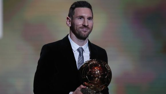 Lionel Messi se convirtió en el jugador con más Balones de Oro de la historia del fútbol