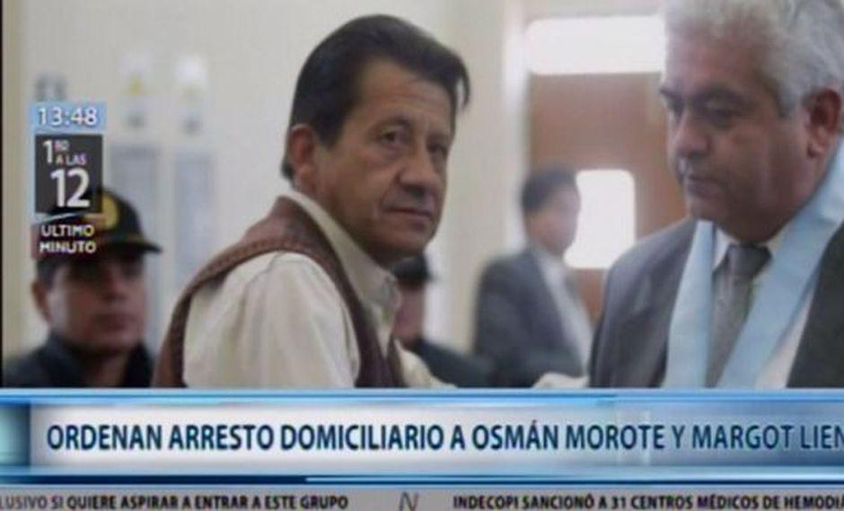 El Poder Judicial ordenó el arresto domiciliario para los terroristas Osmán Morote y Margot Liendo.